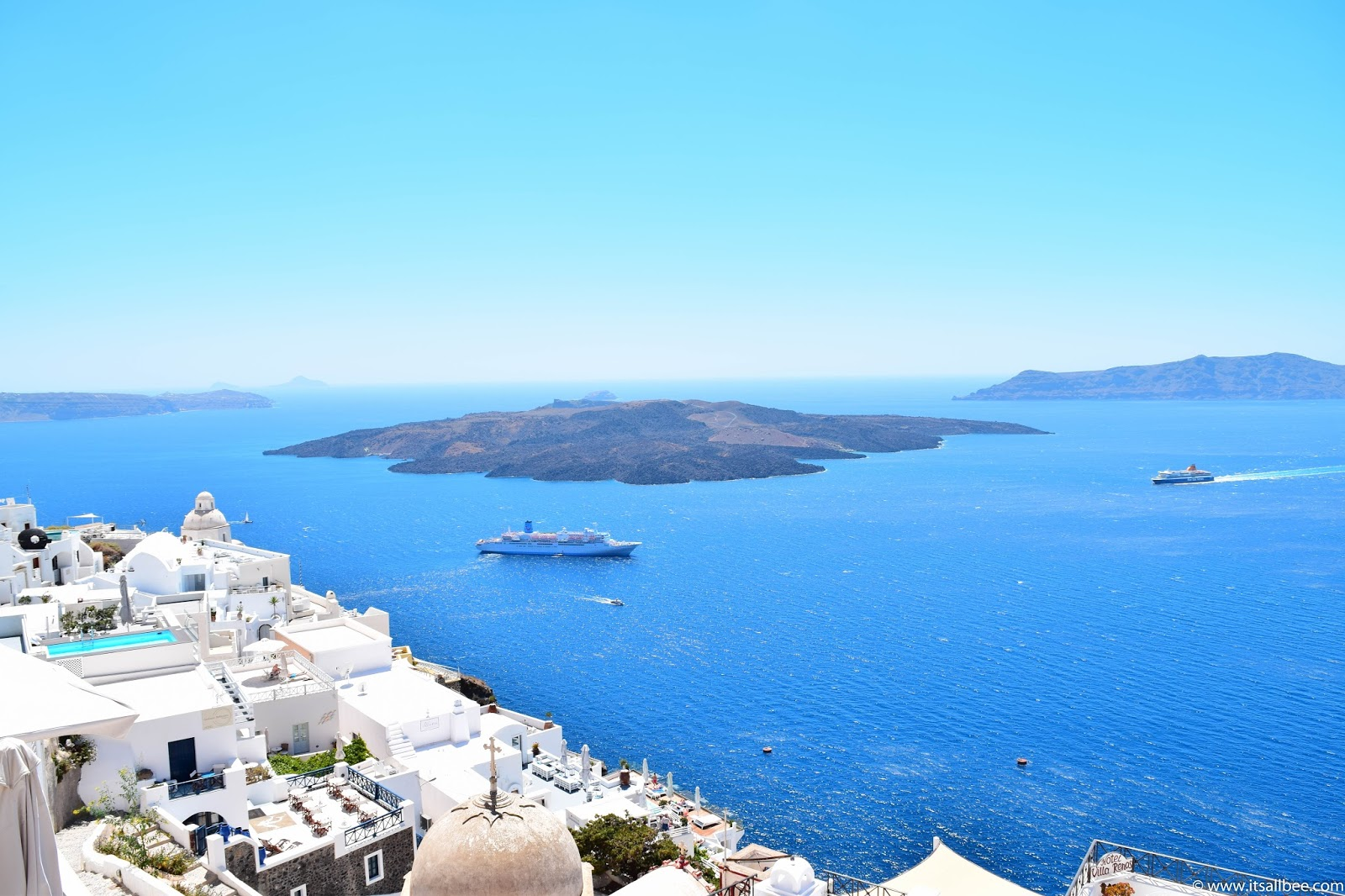 Santorini Beaches The Best Beaches To Check Out Itsallbee Travel Blog