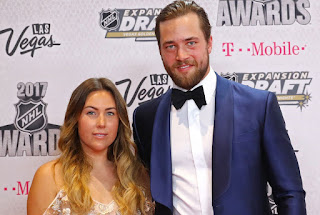 Victor Hedman With His Wife