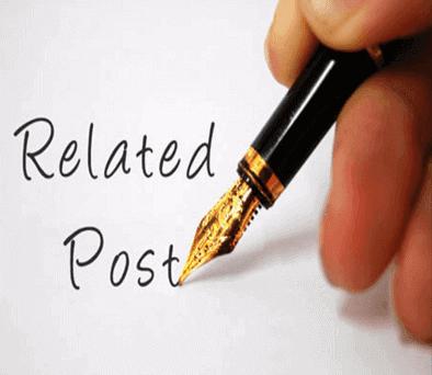 membuat artikel terkai dengan gampang saja Cara Membuat Artikel Terkait Dengan Praktis Di Bawah Postingan Blog