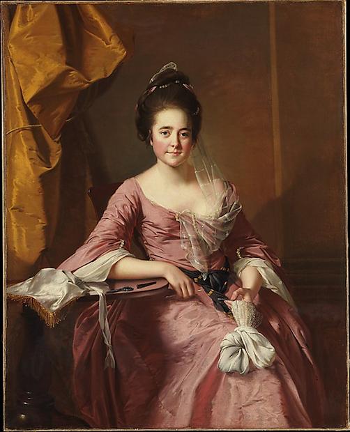 Joseph Wright Portrait of a Woman