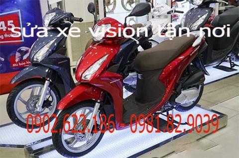 Dịch vụ Cứu hộ xe máy Honda vision chuyên nghiệp tại Sài Gòn