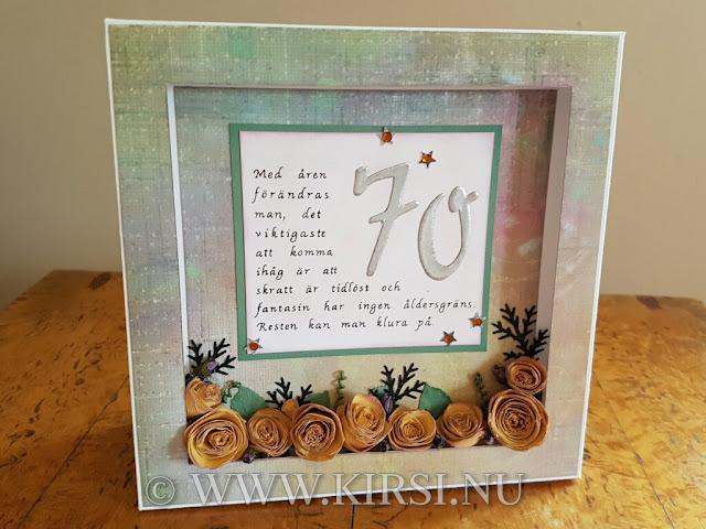 födelsedagskort 70 år Kirsi: november 2016 födelsedagskort 70 år