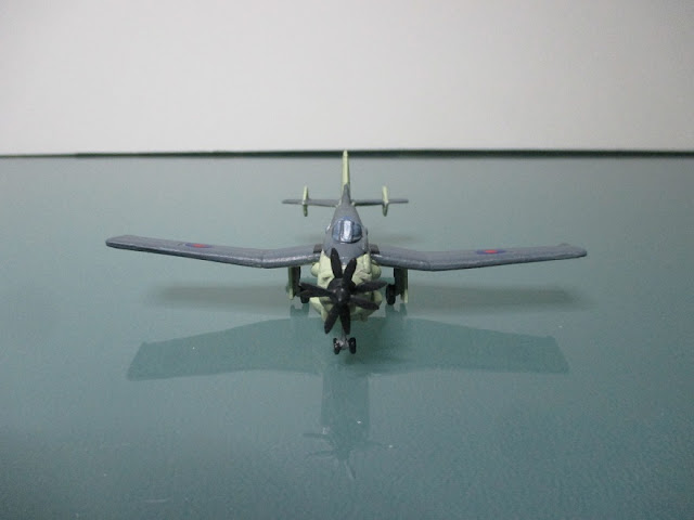 1/144 Fairey Gannet AEW.3 diecast metal aircraft miniature
