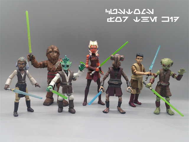 Clone Wars Jedi Younglings Created By Customs For The Kid Rebelscum Com Forums The closest we've come in the canon is gungi, a wookiee who was training to. clone wars jedi younglings created by
