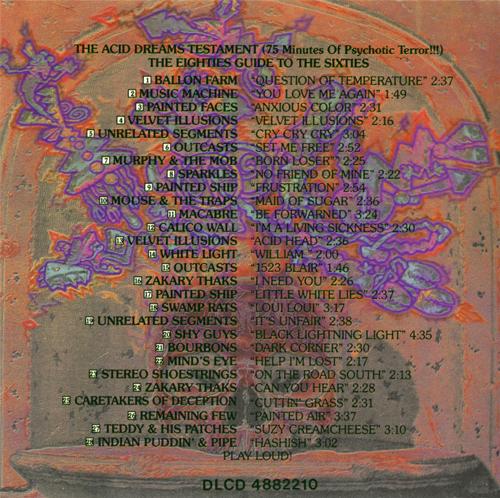 Power Pop Lovers Acid Dreams Testament