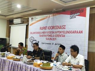 Rapat Koordinasi Menyukseskan Tahapan Pemilu 2019