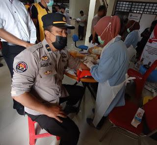 Tim Dokkes Polda Sulsel periksa Kesehatan personil Polres Toraja Utara