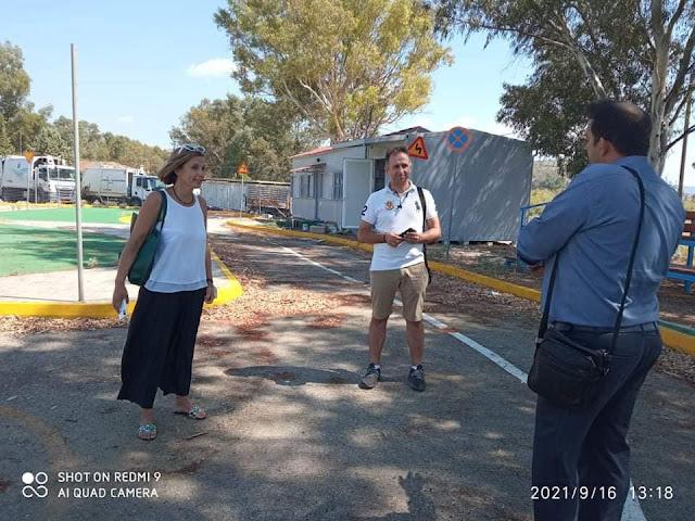 Ολοκληρώνονται οι εργασίες συντήρησης στο Πάρκο Κυκλοφοριακής Αγωγής του Δήμου Ναυπλιέων