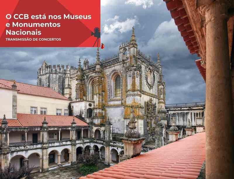 Este fim-de-semana, o projeto CCB – Cidade Digital chega  ao Convento de Cristo, em Tomar.