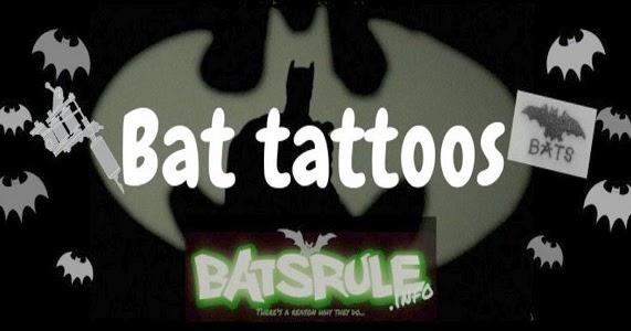 Bat Tattoos2