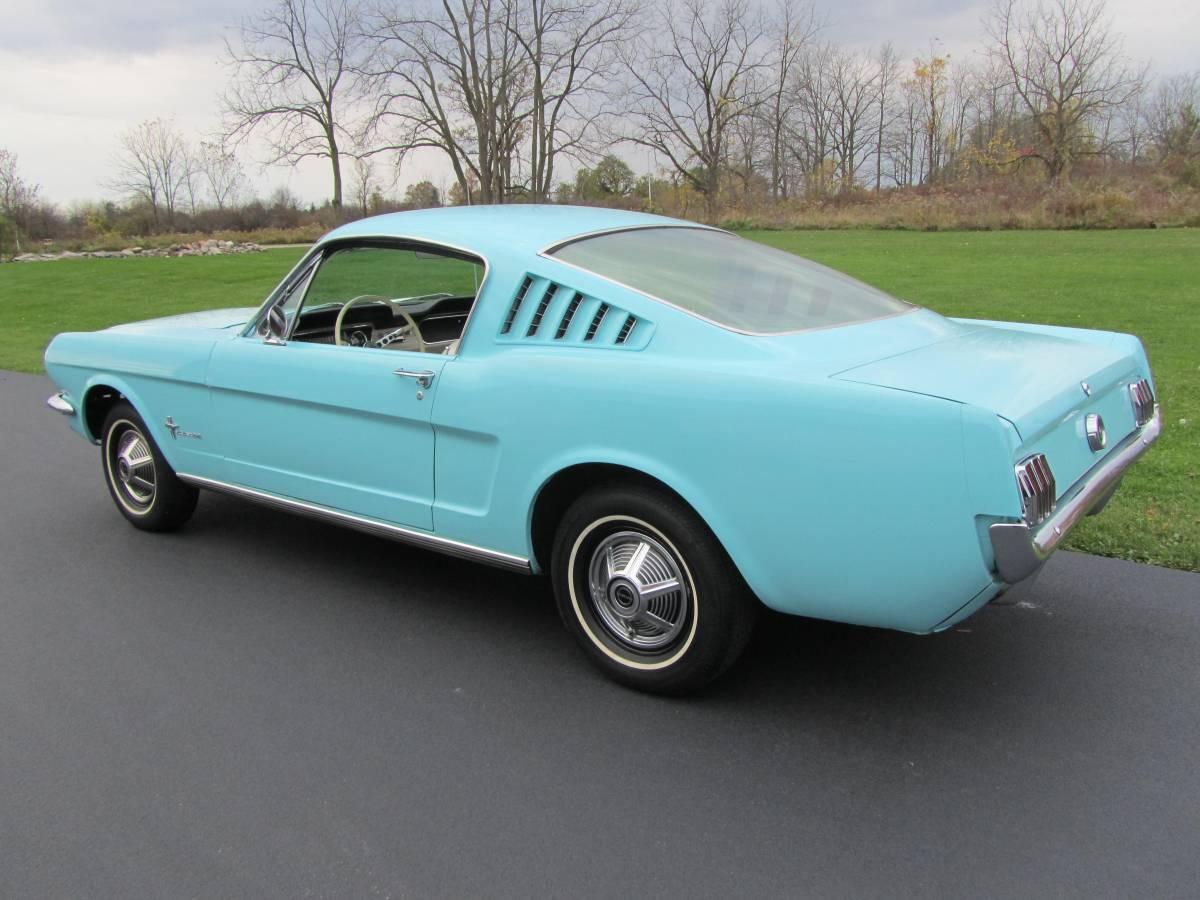Virginia Classic Mustang Blog Rare 1965 Mustang Fastback