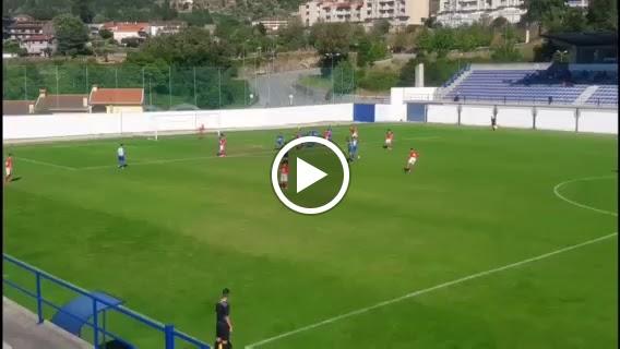 """Divisão de Honra:  O """"Tiro certeiro"""" que levantou o estádio (com vídeo)"""