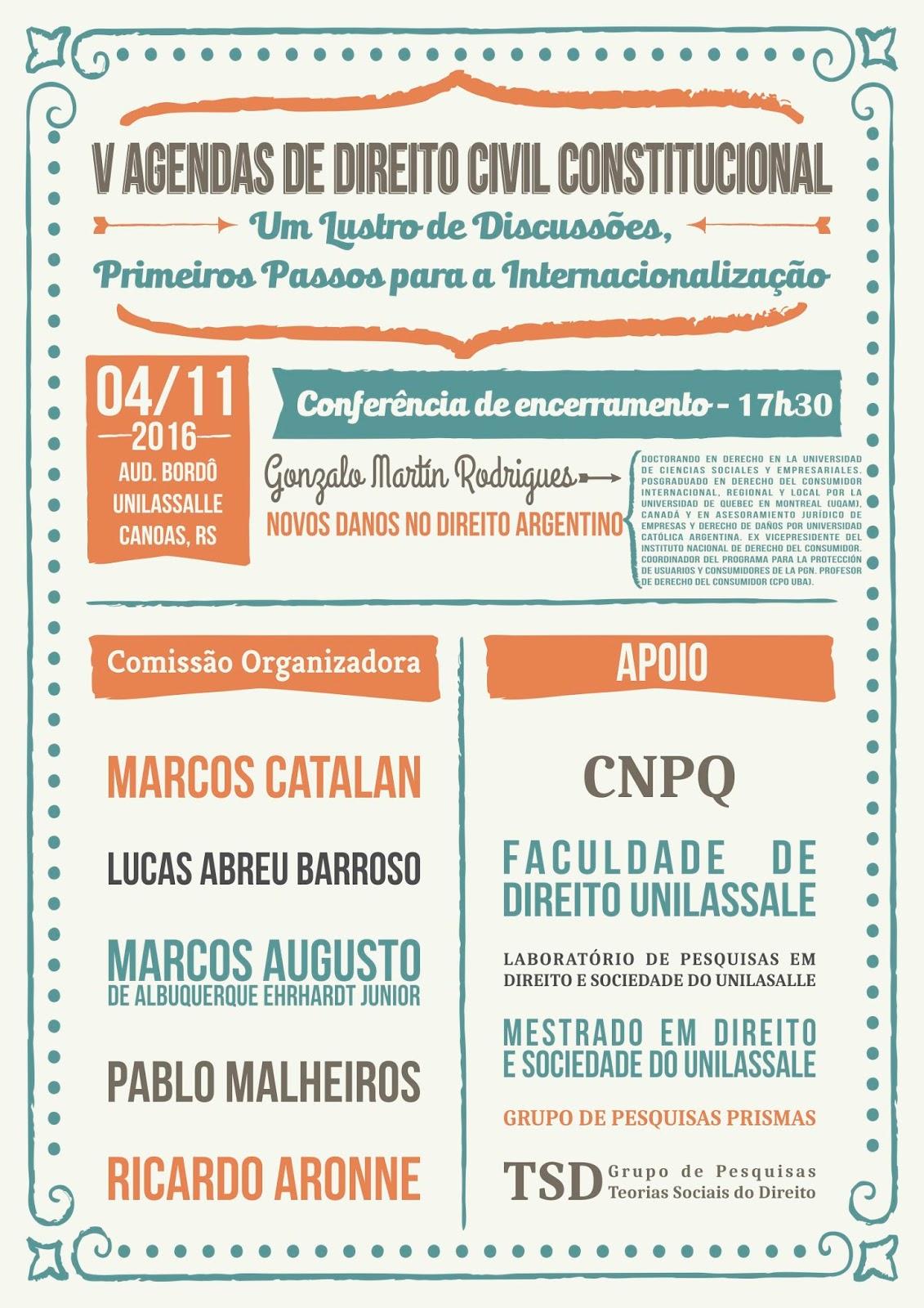 Marcos catalan v agendas de direito civil constitucional - Marcos catalan ...