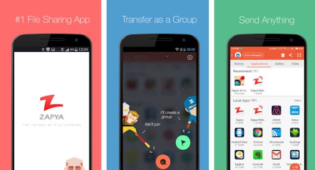 Aplikasi Transfer File Android Terbaik