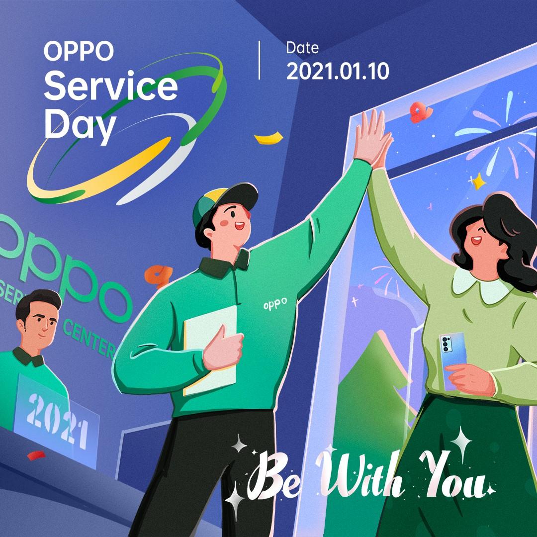 oppo  service day maroc