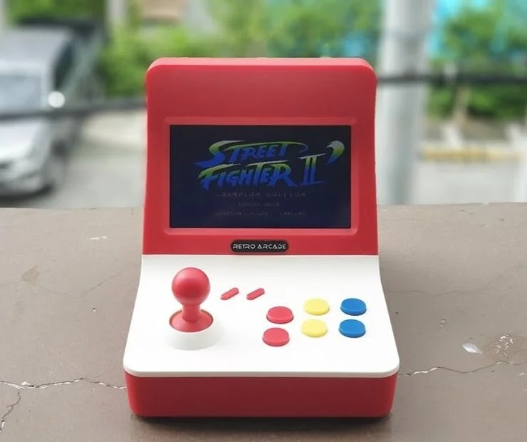 Geniefy Mini Retro Multimedia Arcade Video Game Console for Only Php3,499