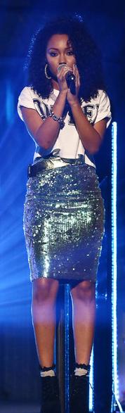 Leigh Anne Little Mix Sequin Skirt Missguided