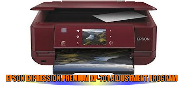 EPSON EXPRESSION PREMIUM XP-701 PRINTER ADJUSTMENT PROGRAM