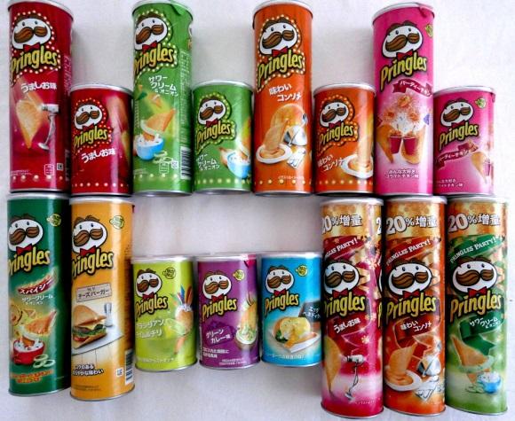 Pringles flavor in year 2015 in Japan