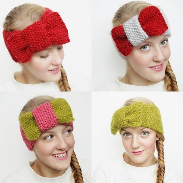 turbante, cinta, lazo, crochet, tejer