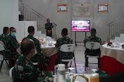 Kenalkan Diri Sekaligus untuk Bersilaturahmi, Danrem 064/MY Kunjungi Grup 1 Kopassus