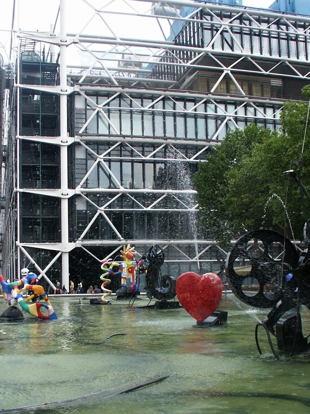Fontana Stravinsky Parigi