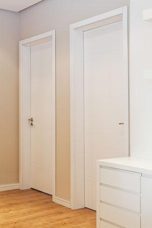 Portas - Qual material escolher PVC