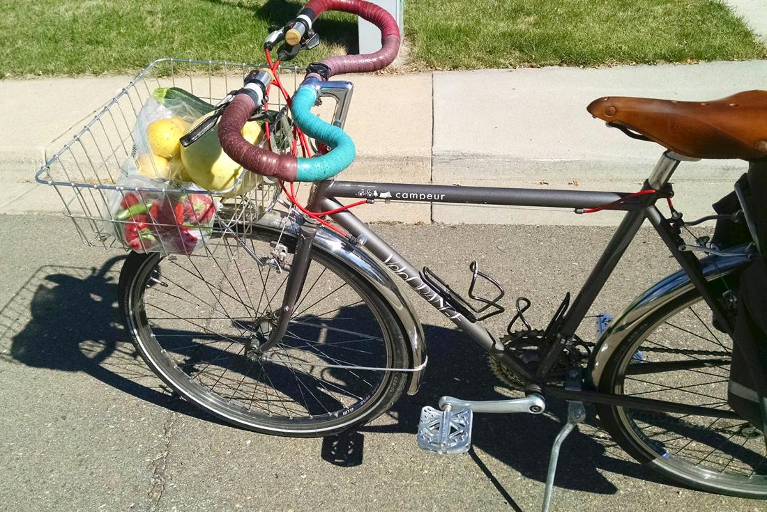Image result for gravel bike carrying vegetables