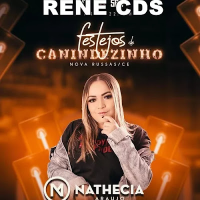 Nathecia Araujo e Forró Bom Que Só - Canindezinho - Nova Russas - CE - Outubro - 2019