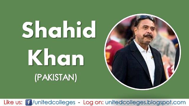 Shahid Khan (Pakistan)