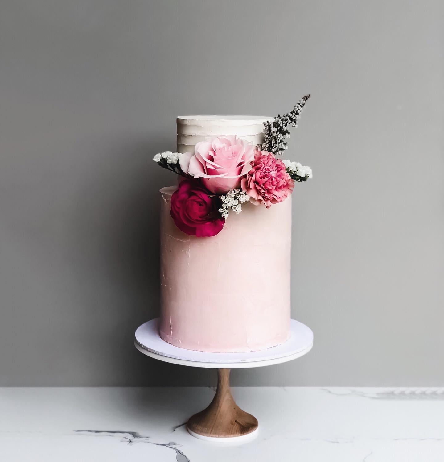 wedding cake designer perth two tier cake