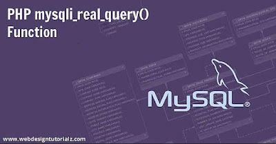 PHP mysqli_real_query() Function
