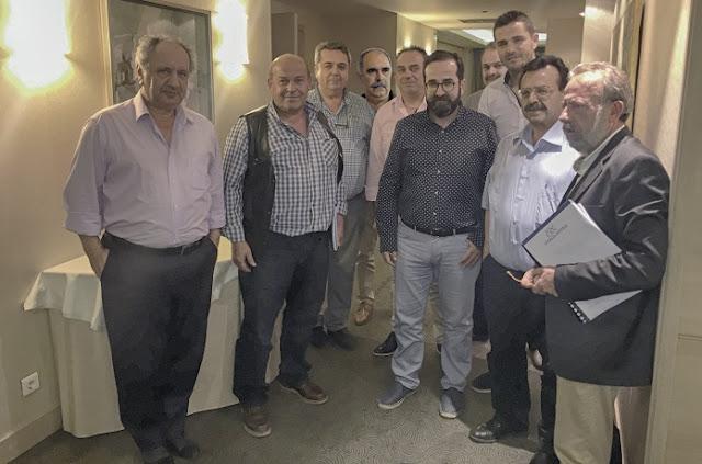 Νέος Πανελλήνιος Ενωτικός Φορέας αγροτικών συνεταιρισµών με την συμμετοχή του Βασίλη Παρόλα