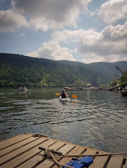 Kayaking @Lake Pancharevo, Bulgaria