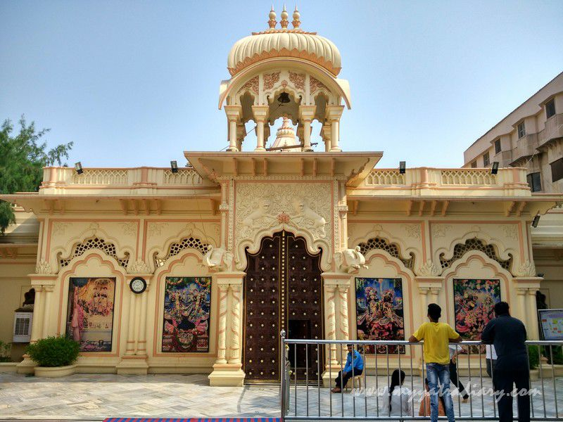 ISKCON Temple in Vrindavan, Uttar Pradesh