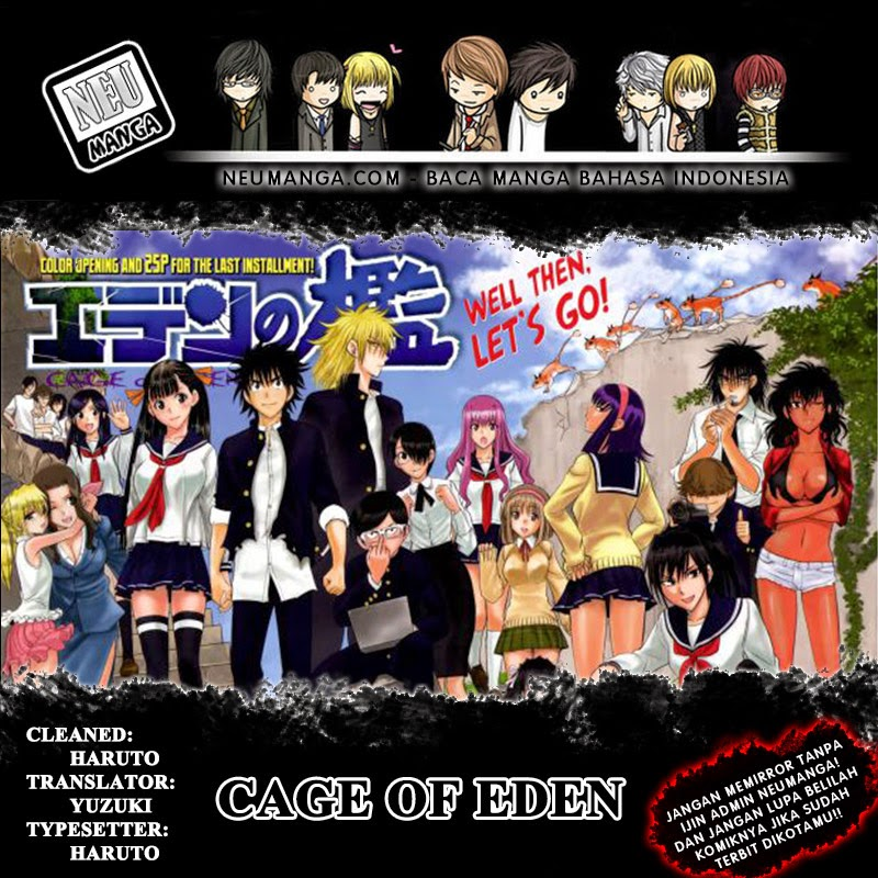 Dilarang COPAS - situs resmi - Komik cage of eden 075 - Mr.Brain 76 Indonesia cage of eden 075 - Mr.Brain Terbaru 1|Baca Manga Komik Indonesia|