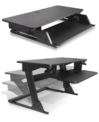 Volante Desktop Attachment for Sit To Stand Working