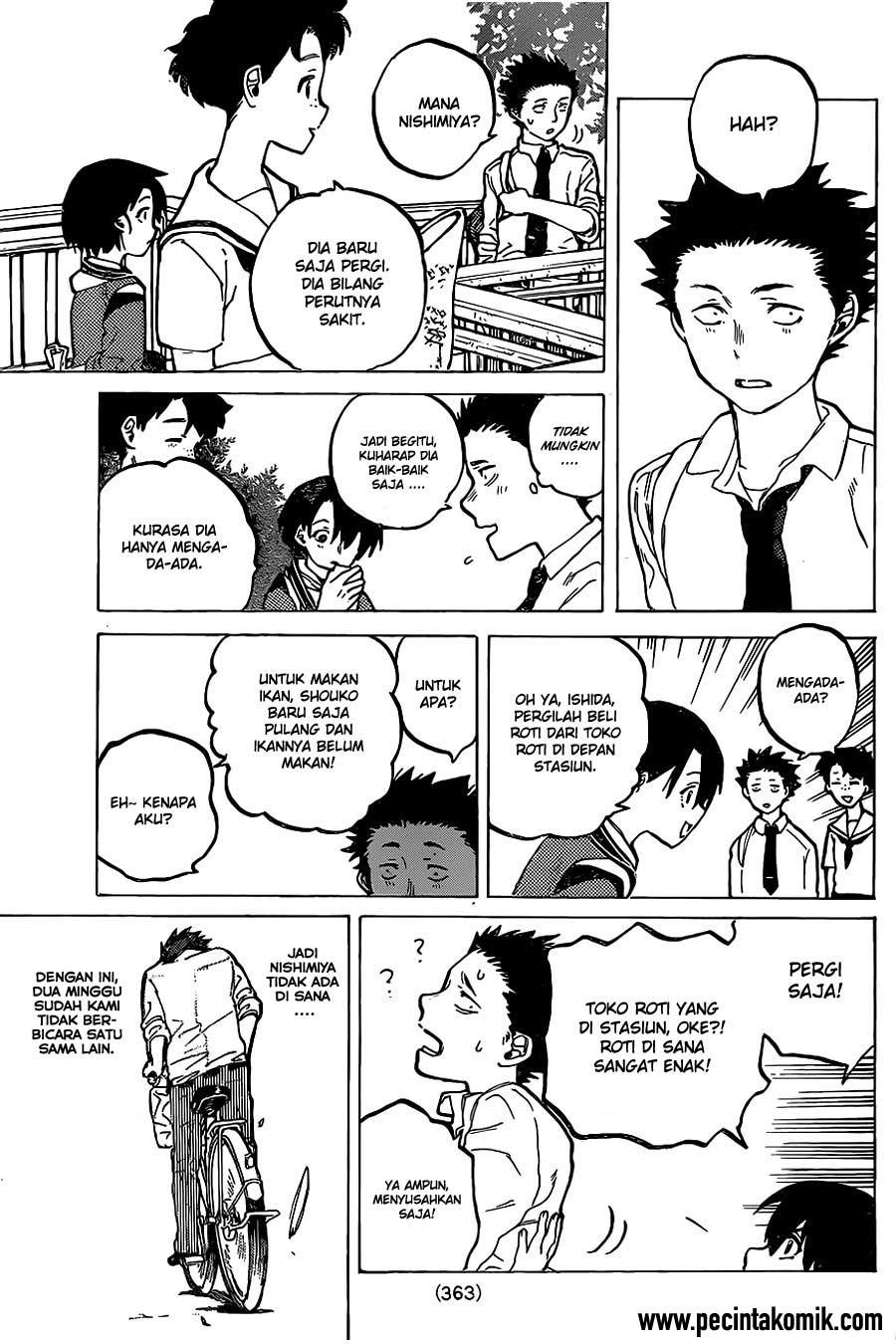 Koe no Katachi Chapter 22-18