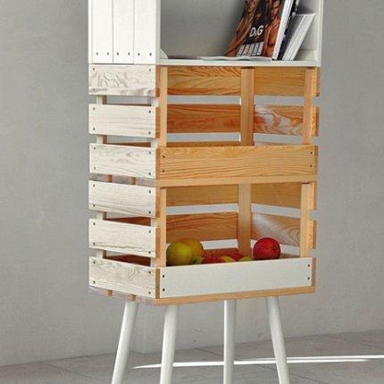 chab 39 blog chab 39 brico que faire avec des cagettes en bois. Black Bedroom Furniture Sets. Home Design Ideas