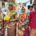 Keluarga besar IWO Muara Enim, hadir di acara resepsi pernikahan