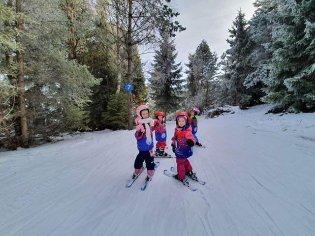 najmłodsze narciarki w Tyliczu