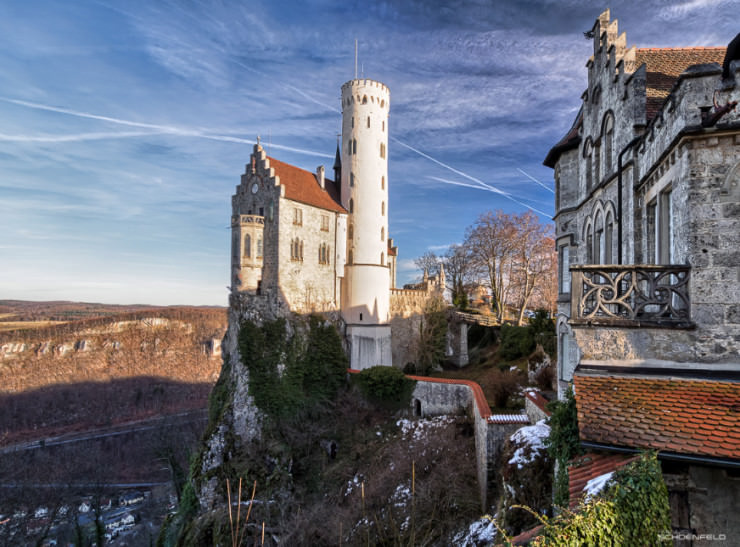 Top 10 Wonderful German Castles - Lichtenstein Castle