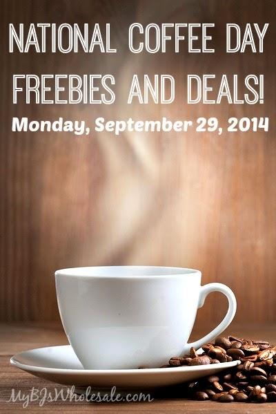 National Coffee Day Freebies and Deals