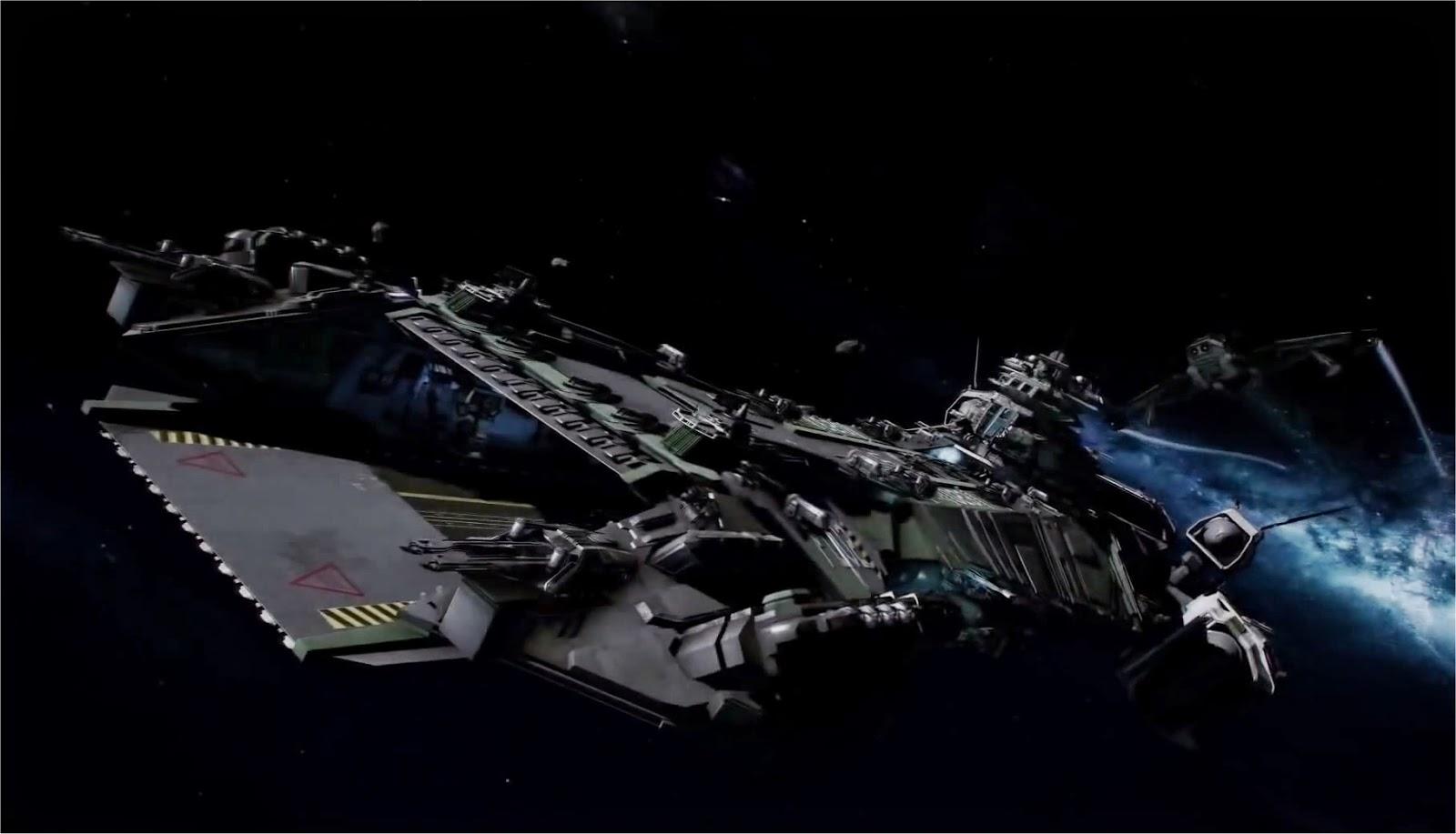 Star Citizen large Ship