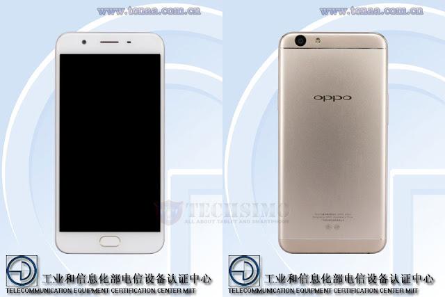 Oppo A59 muncul disitus sertifikasi Tenaa dengan desain mirip F1 Plus