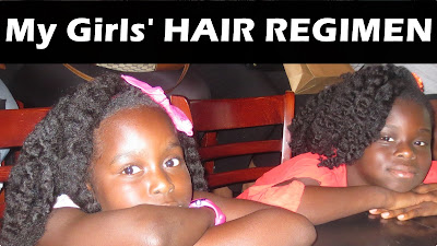 My Girls Natural Hair Regimen