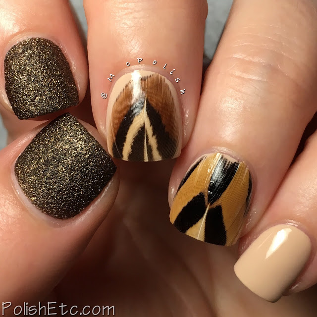 Feather Nails for the #31DC2018Weekly - McPolish