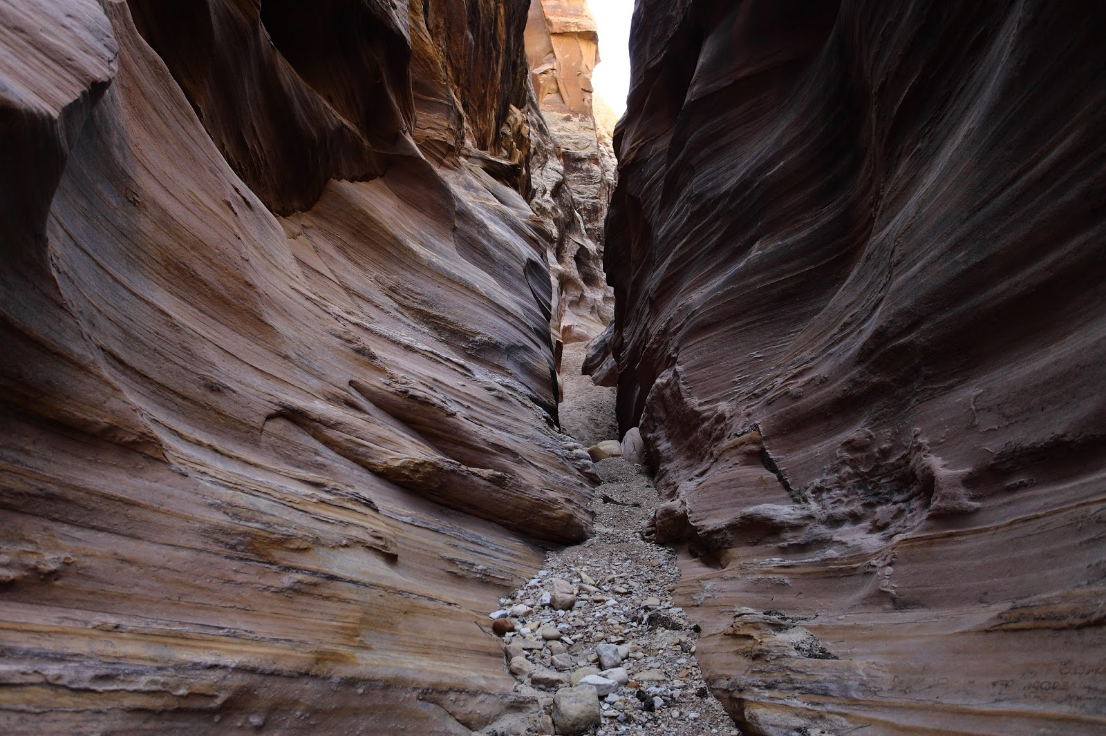 BAPTIST DRAW & UPPER CHUTE CANYON LOOP. SAN RAFAEL SWELL ...