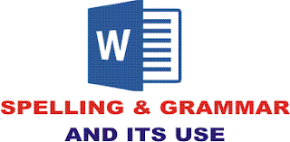Ms Word Spelling and Grammar Option