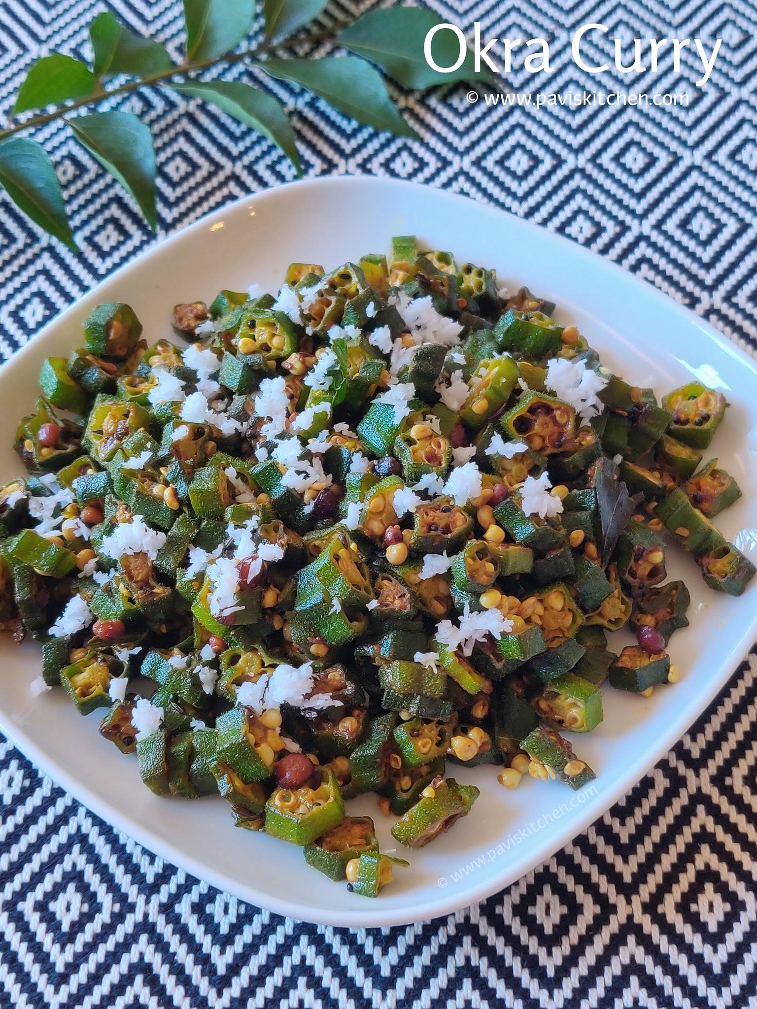 Vendakkai Poriyal Recipe | Bendakai Palya | Okra Curry | Bhindi fry